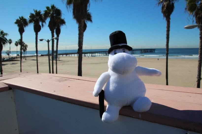 Moominpappa in Los Angeles